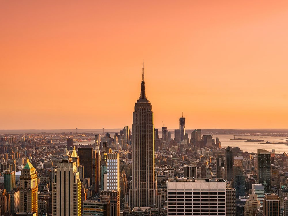 Sunrise at the Empire State Building