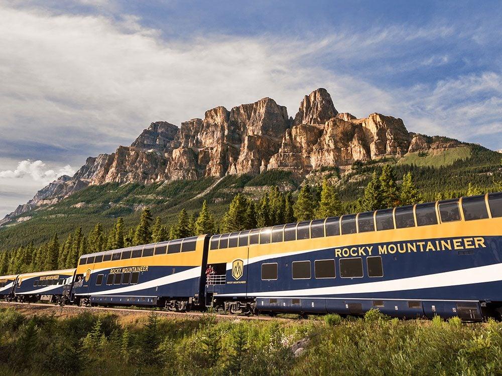 Canadian Rockies on Rocky Mountaineer