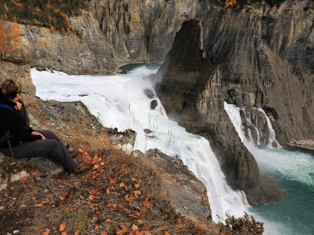 Virginia Waterfalls, Canada