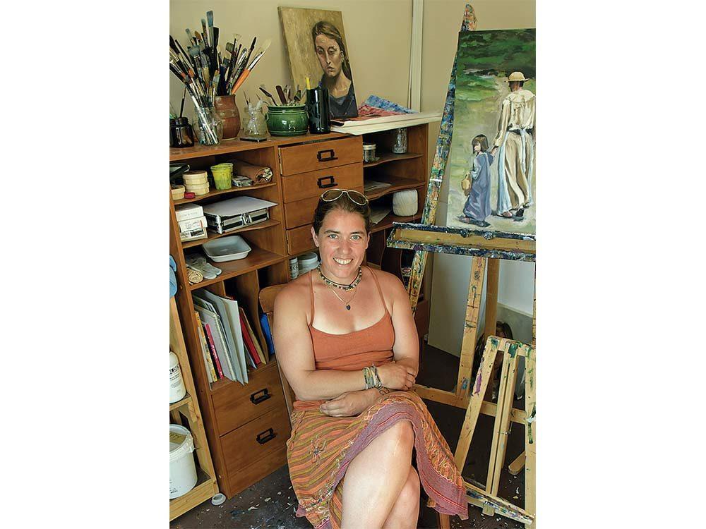 Artist Jen Walden