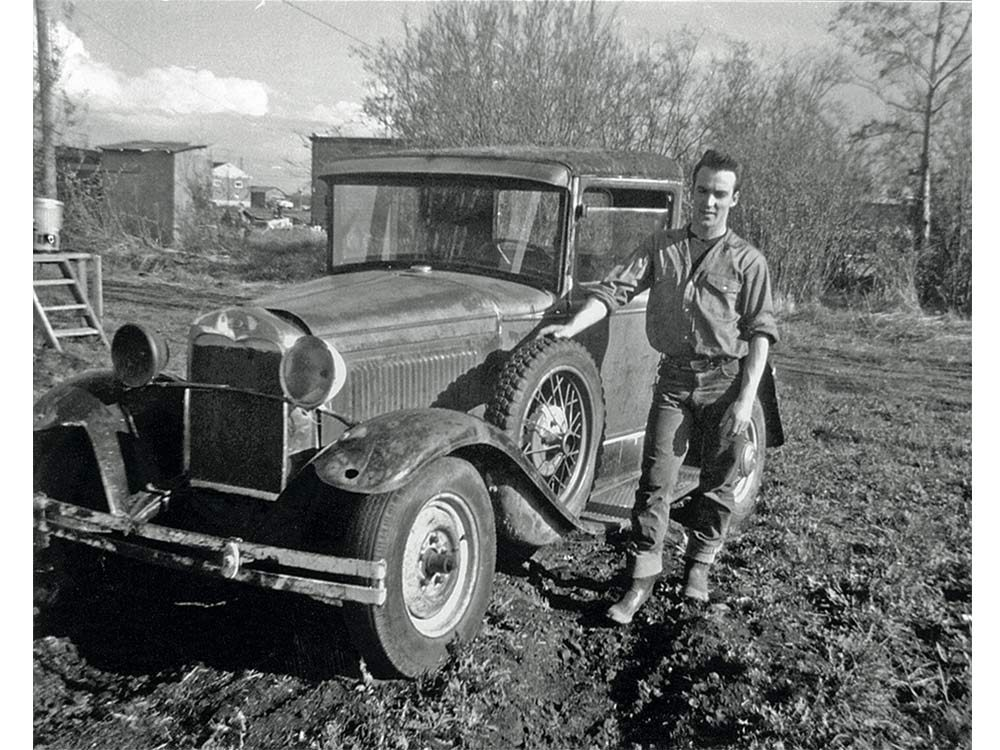 Model A Ford in 1965
