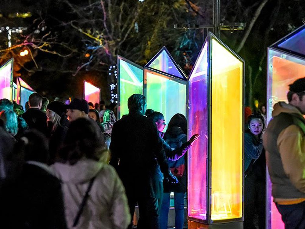 Glow Downtown Winter Lights Festival, Calgary