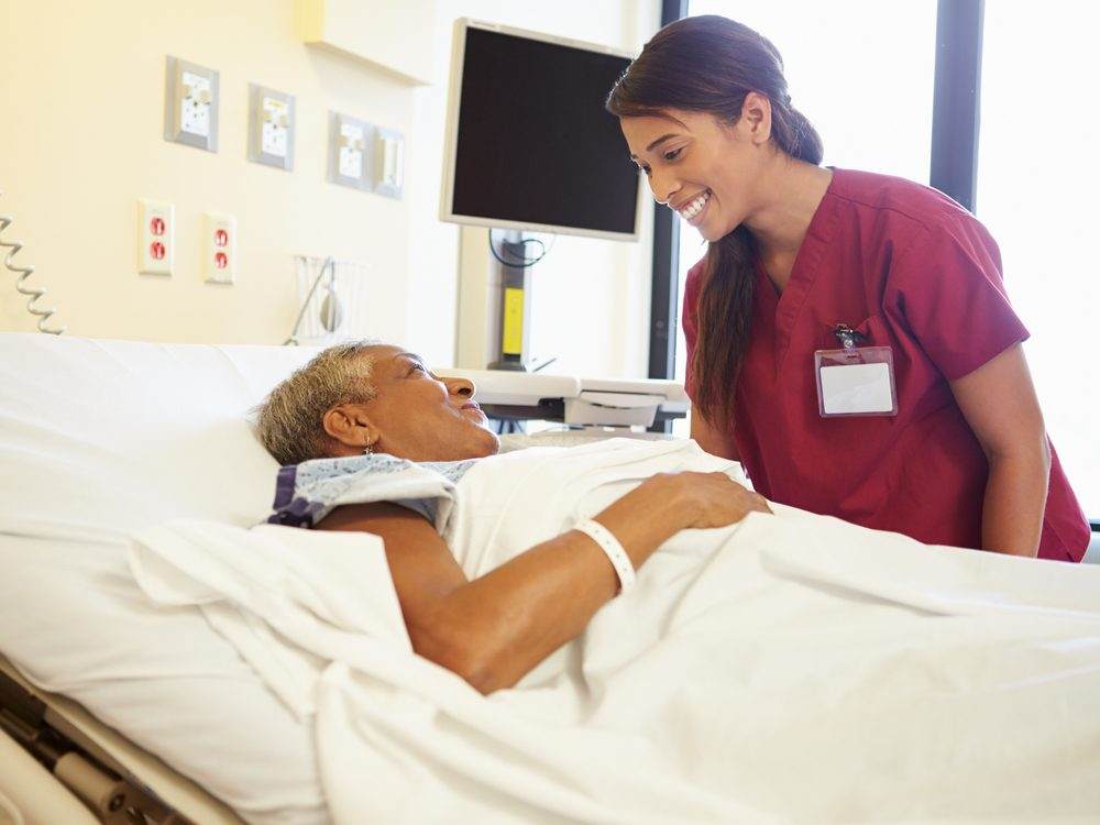 Nurses give extra TLC to patients who treat them nicely