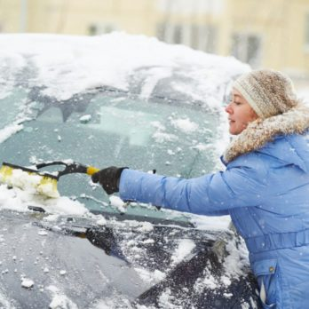 This is the Safest (and Fastest!) Way to Remove Snow from Your Car