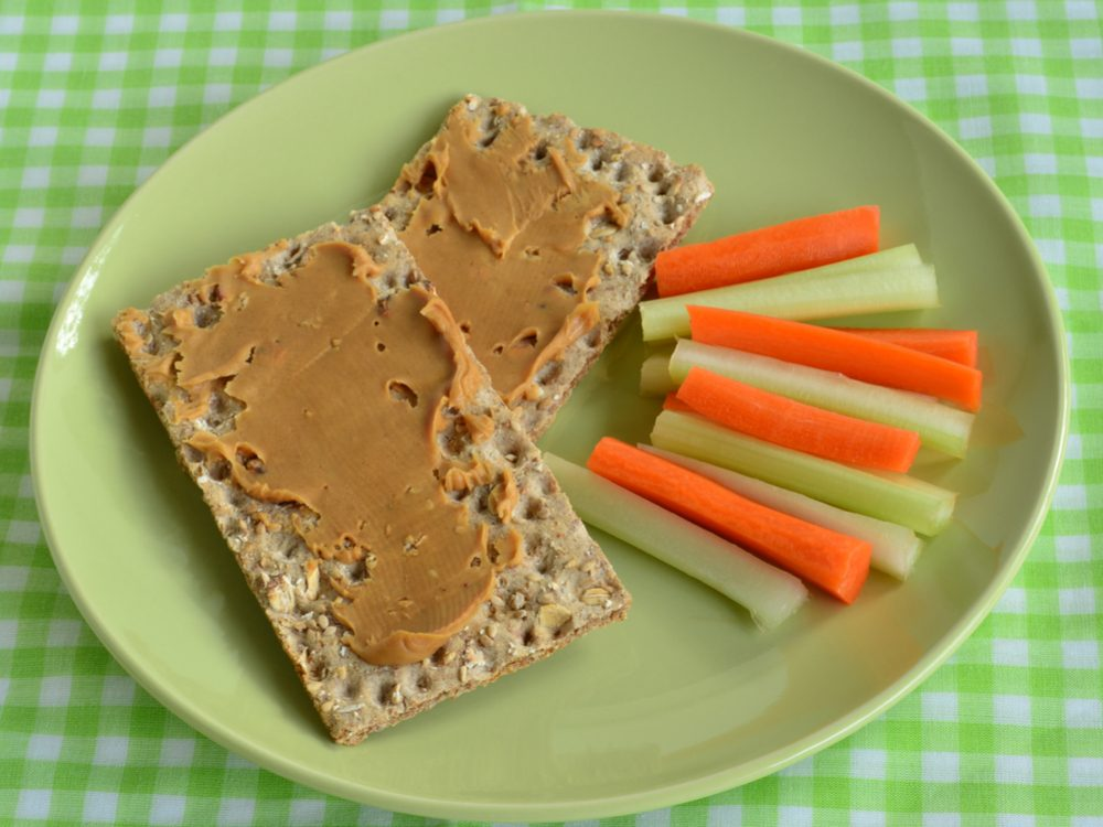 Switch to whole-grain crackers to increase your dietary fibre
