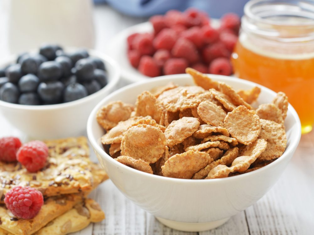 """Make sure that the first ingredient in whole-grain products has the word """"whole"""" in it to increase your dietary fibre"""