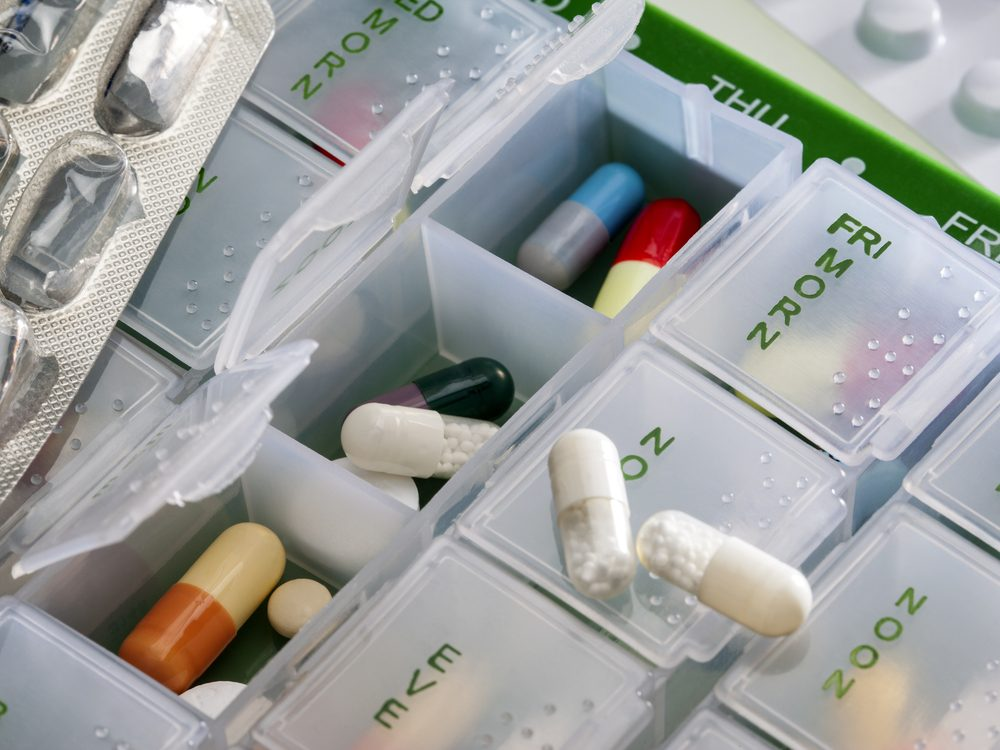 Over-the-counter drugs and herbals count as medications you take