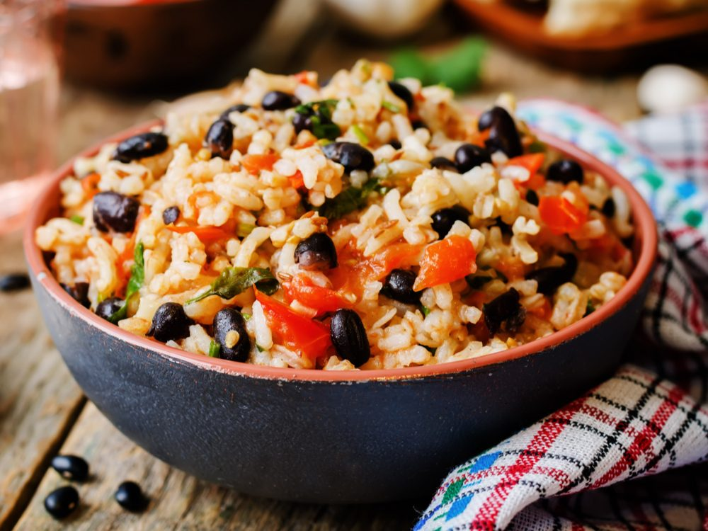 Make beans a part of at least one meal a day to increase your dietary fibre