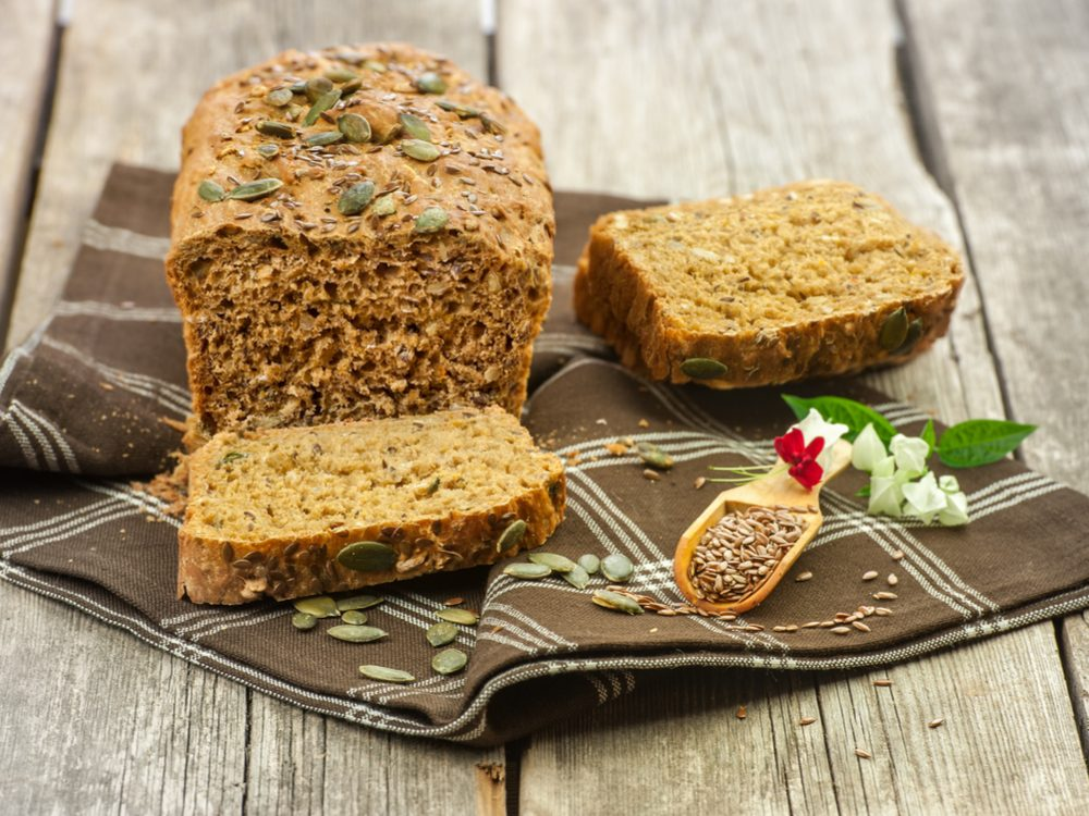Throw some flaxseeds, wheat germ, or other high-fibre add-ins into batter to increase your dietary fibre