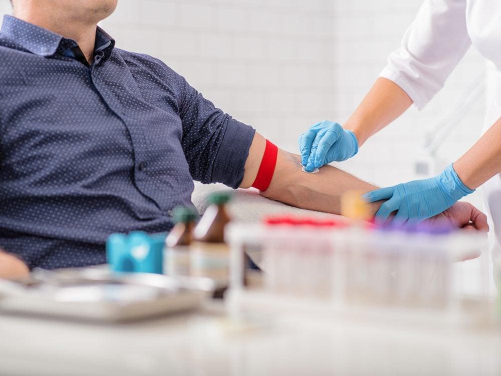 Nurses shouldn't miss your vein