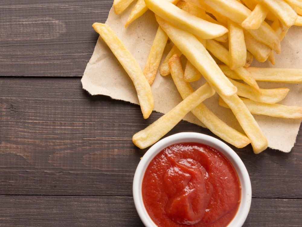 Ketchup is an unhealthy condiment choice.