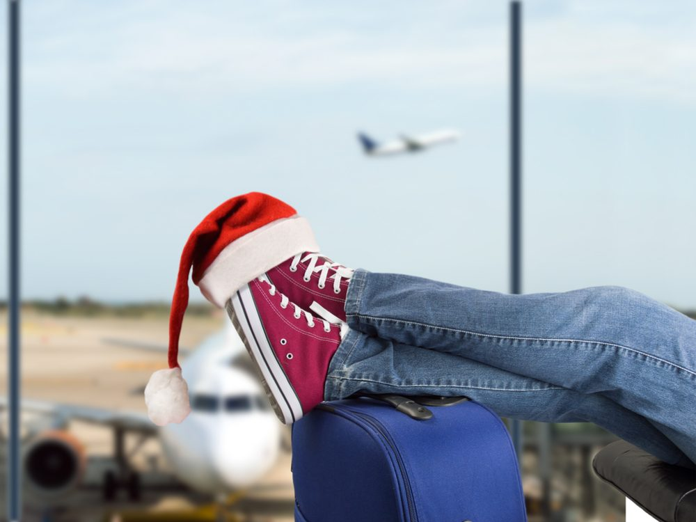 Expect large crowds the airport on peak travel days