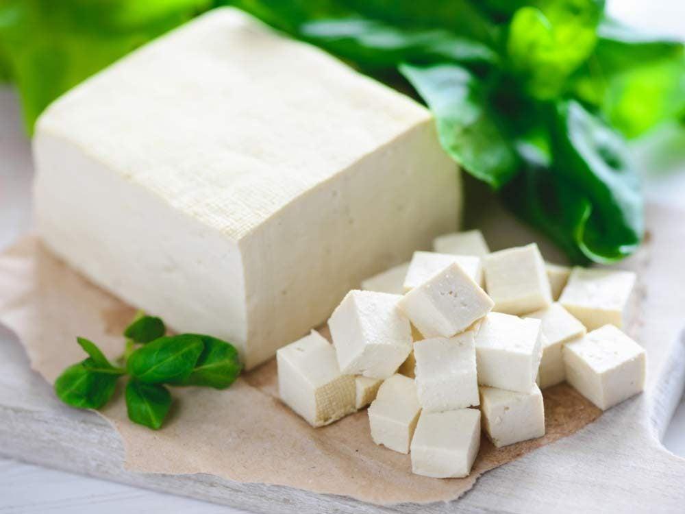 Soy cheese tofu