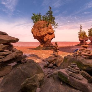 East Coast Canada - Hopewell Rocks