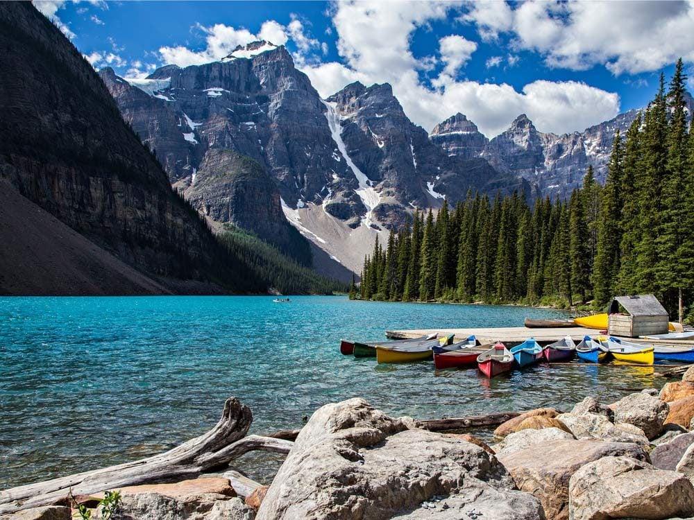 Banff in Alberta