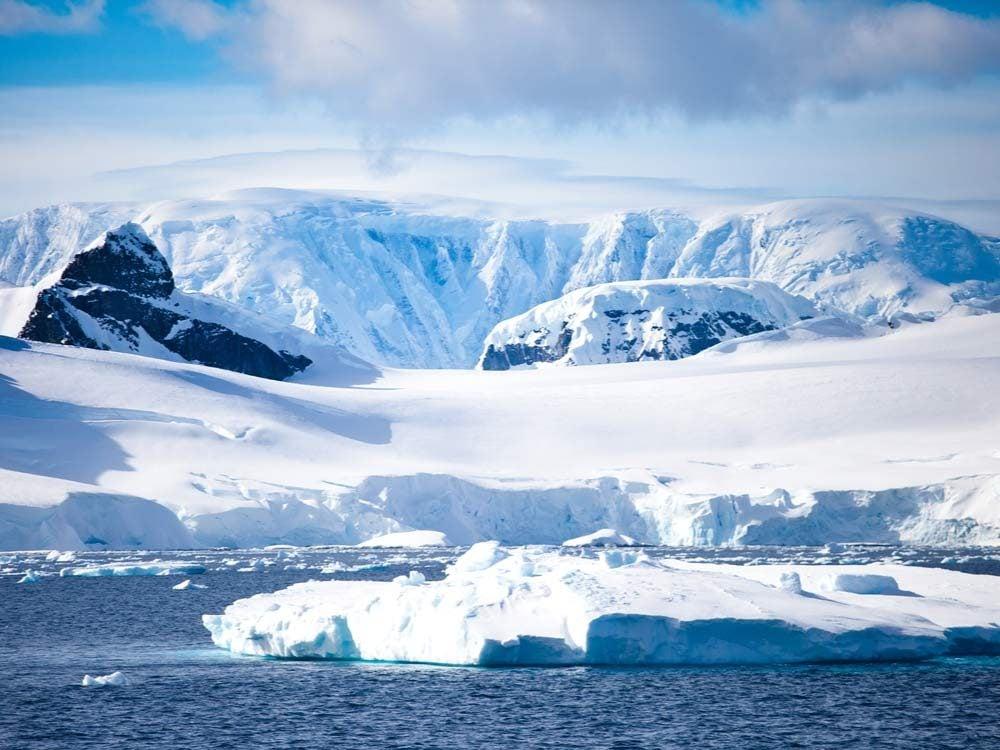 Glaciers in Antarctica