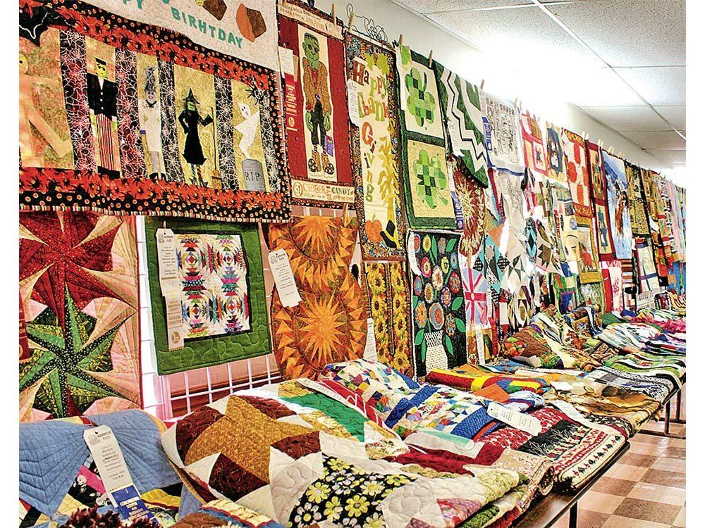 Arts and crafts exhibit in Harrow