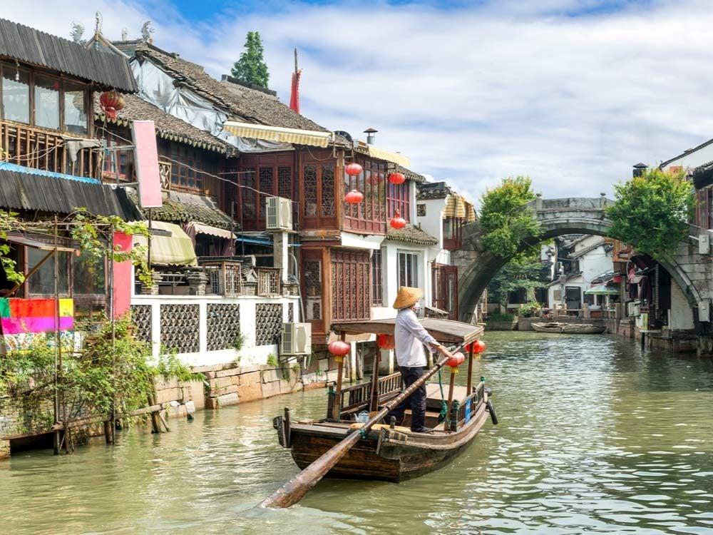 River boat in Shanghai