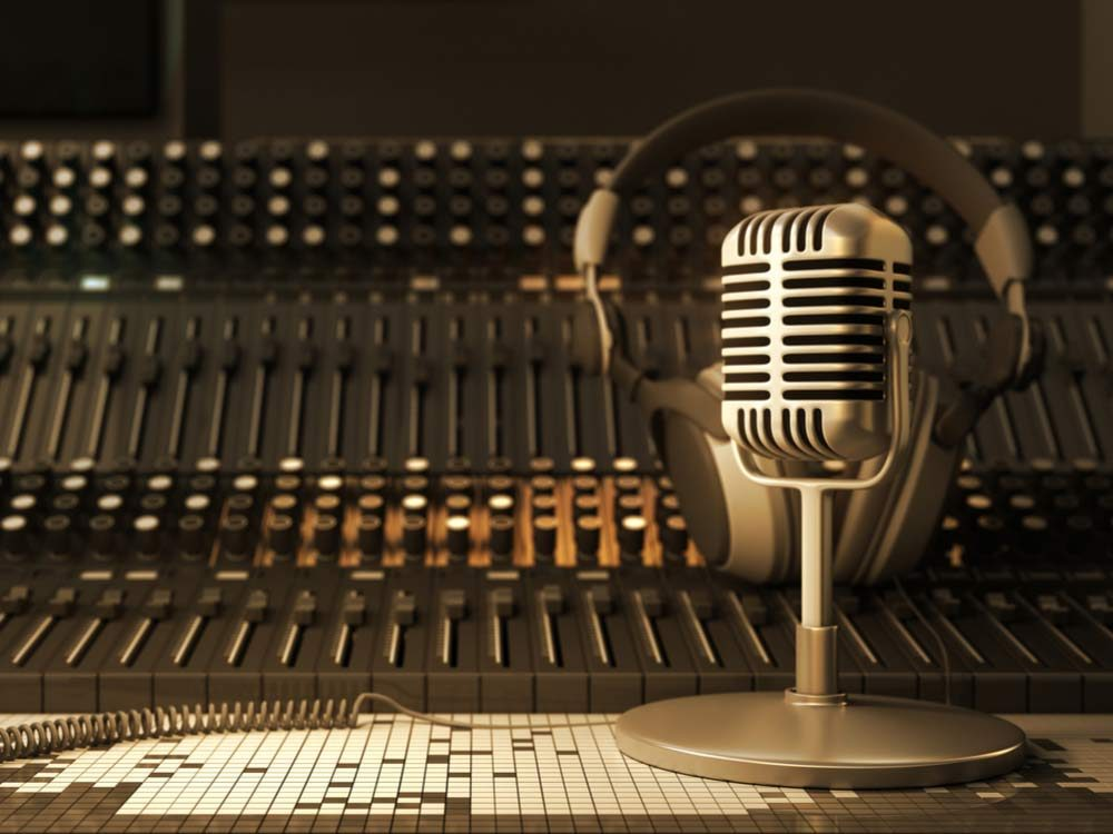 Old recording studio