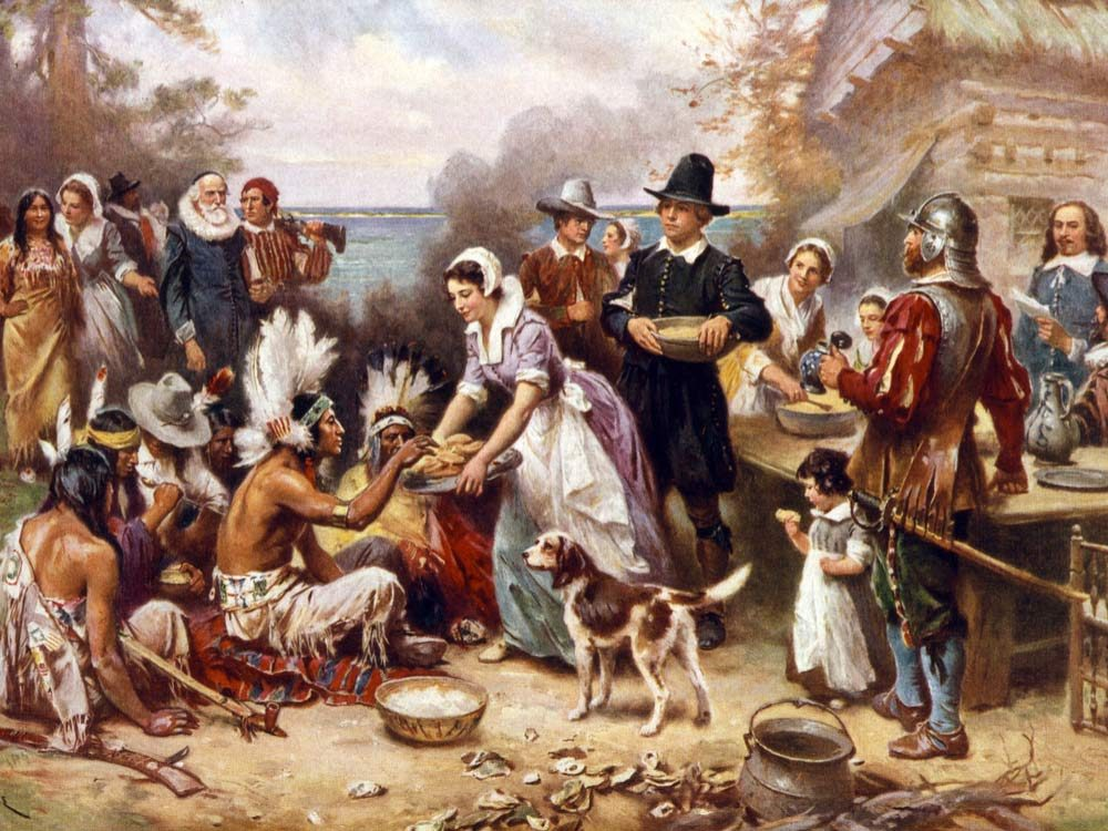 Pilgrims and Indians
