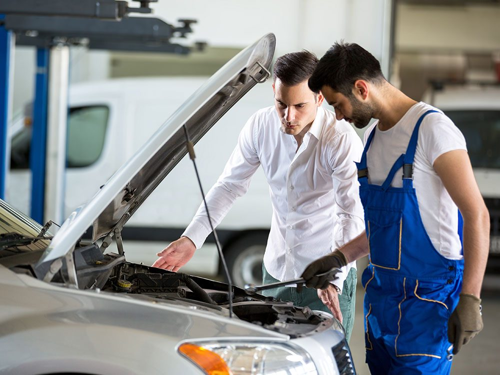 How to spot a mechanic scam