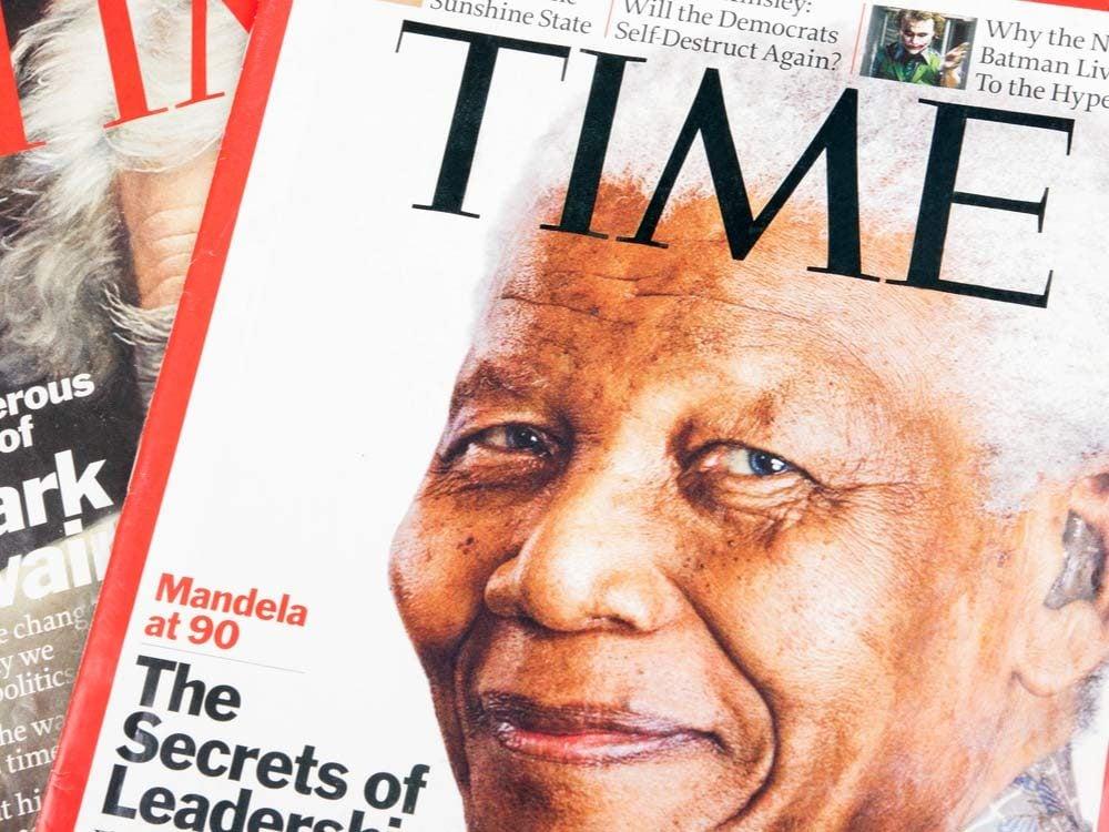 Nelson Mandela on TIME Magazine