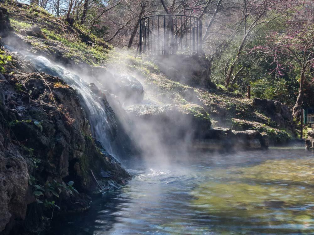 Hot Springs National Park in Arkansas