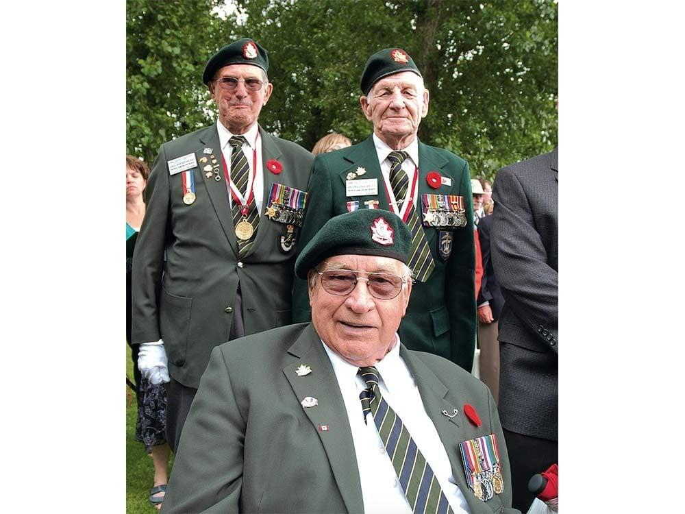 Dieppe Raid veterans