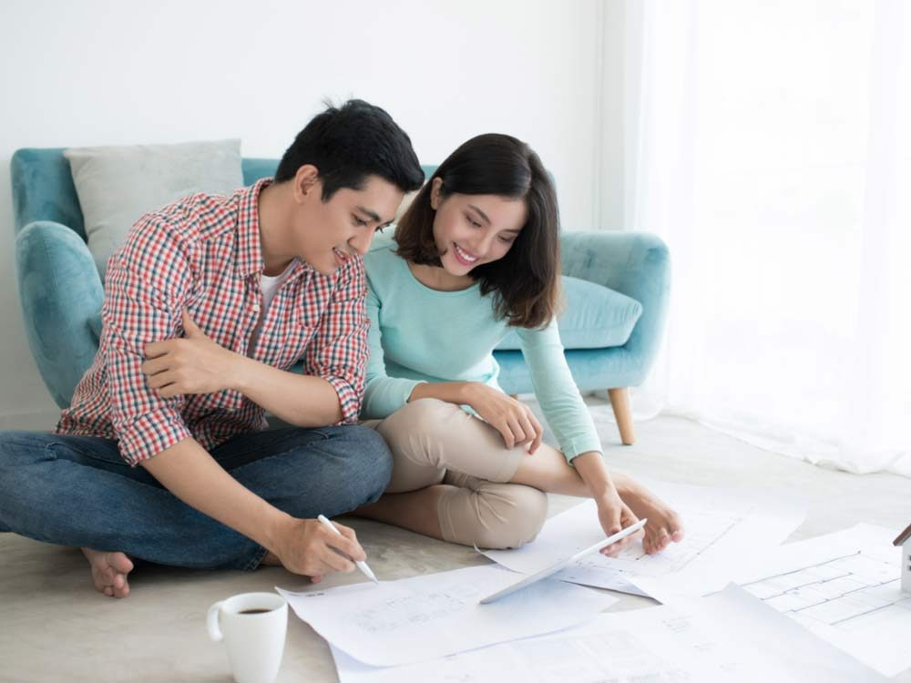 Couple planning to renovate