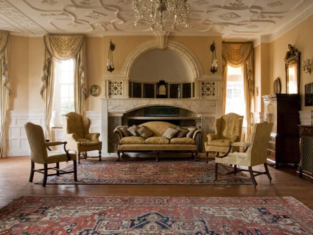Living room in mansion
