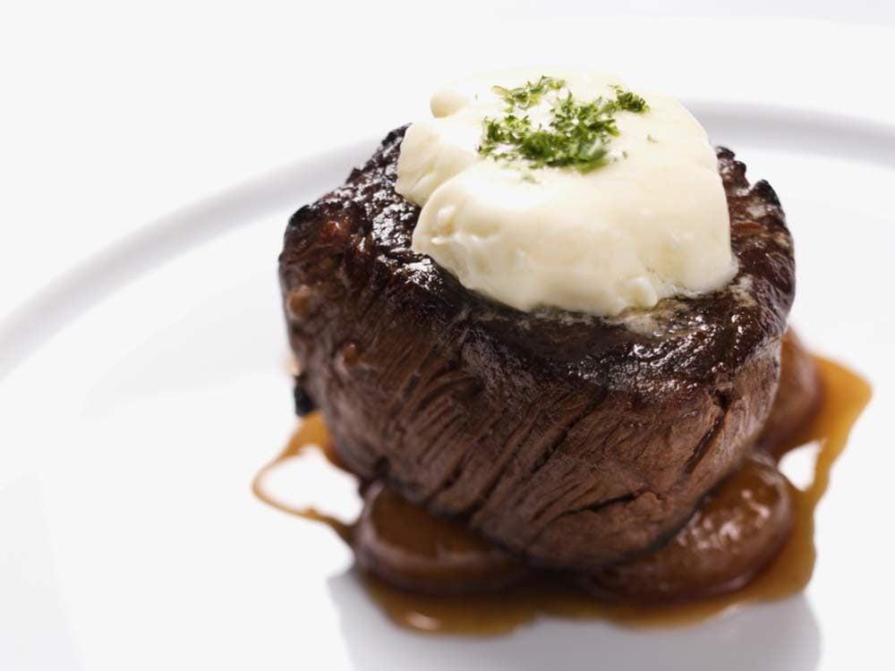 Beef filet entree