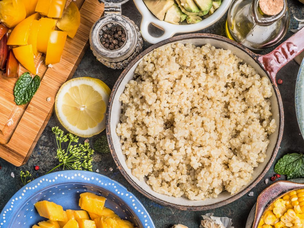 Quinoa is a healthy pasta alternative