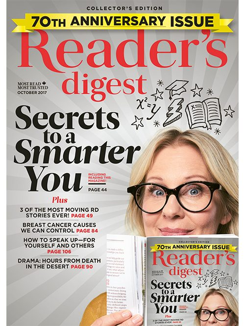 Reader's Digest Canada - October 2017