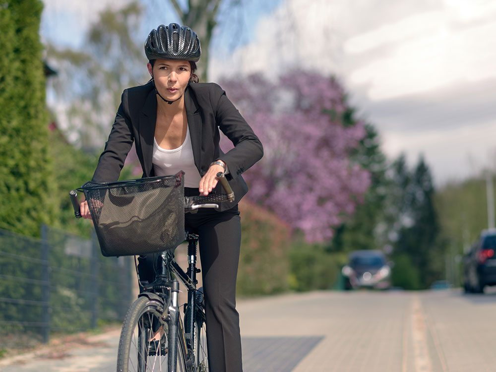 No time to work out? Bicycle to work!