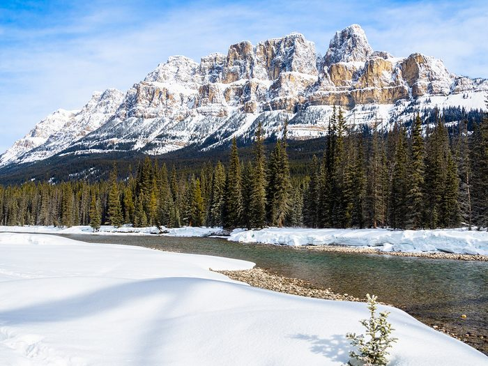 Canadian Rockies quiz - name that peak