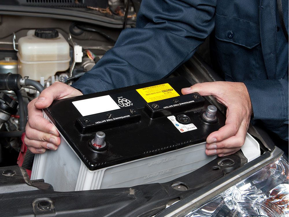 Changing your car battery