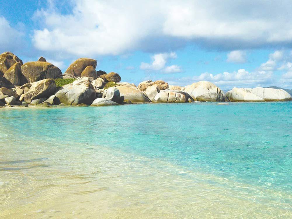 Devil's Bay in the British Virgin Islands