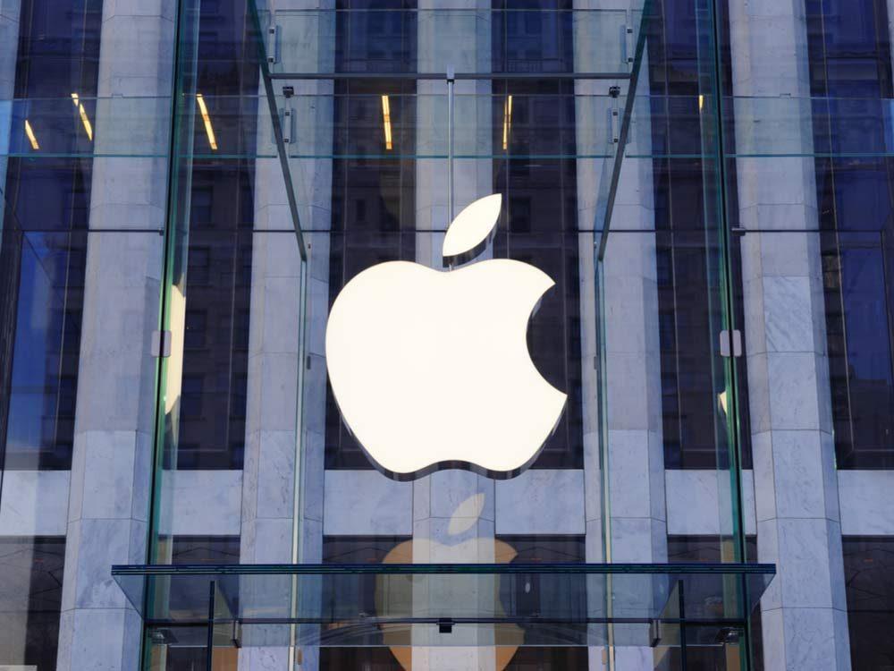 Apple company logos