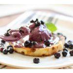 Dairy-Free Wild Blueberry Soft Serve