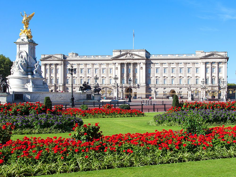 Princess Diana lived at Buckingham Palace for a time