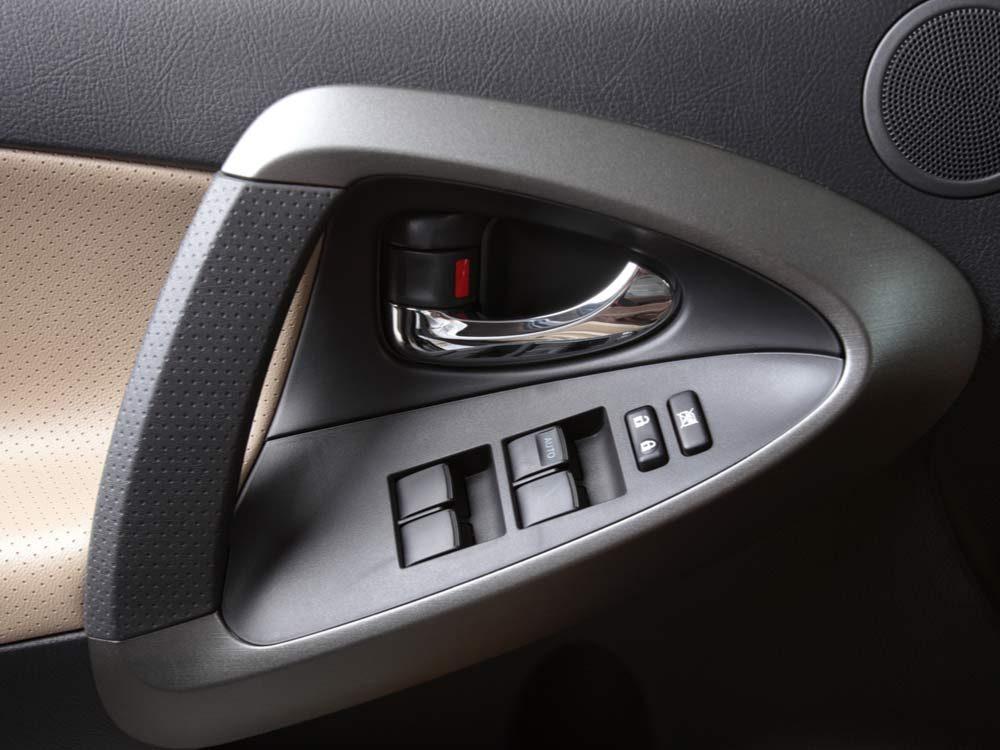 Modern car door panel
