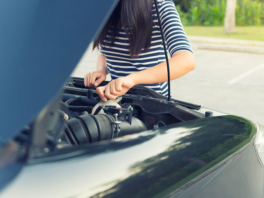 How to Check Coolant