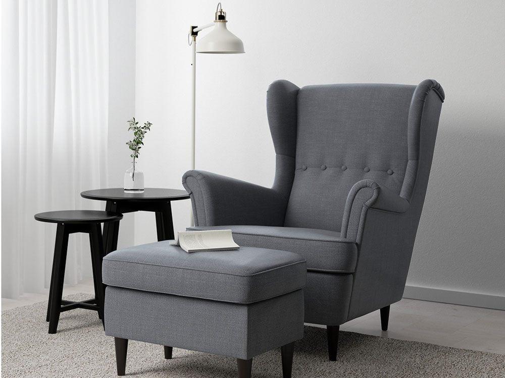 Strandmon wing back chair, IKEA