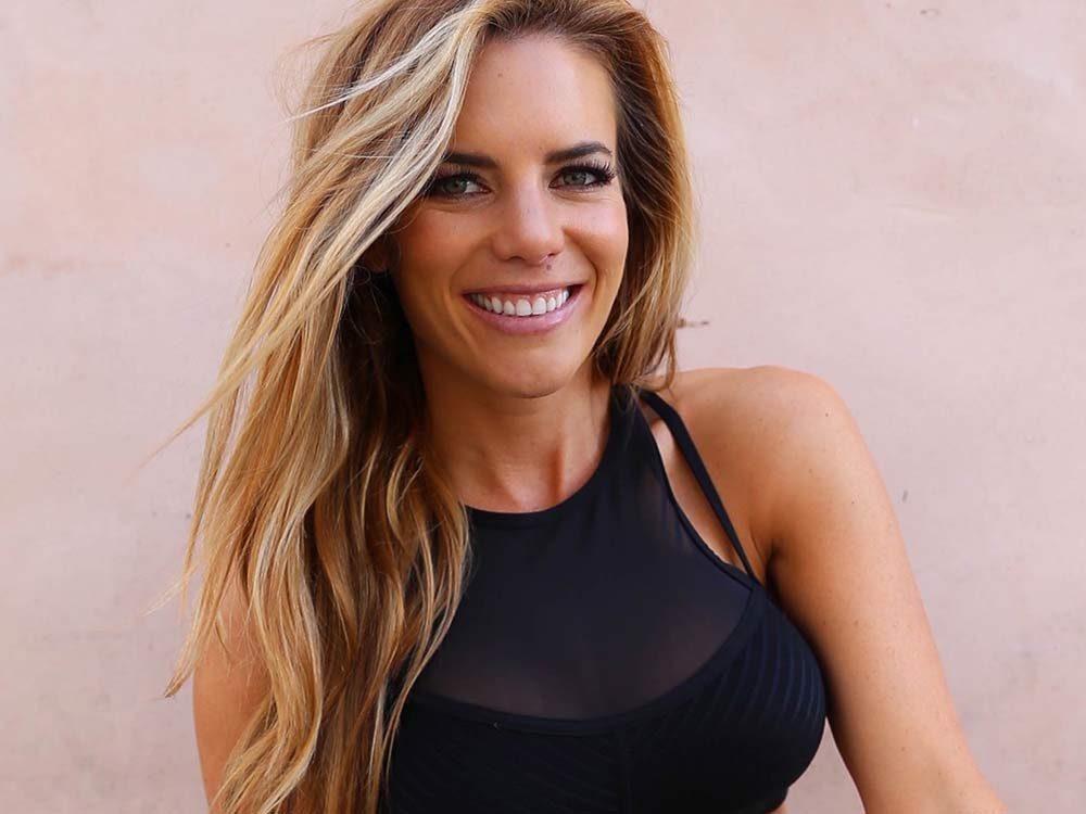 Fitness blogger Katie Dunlop