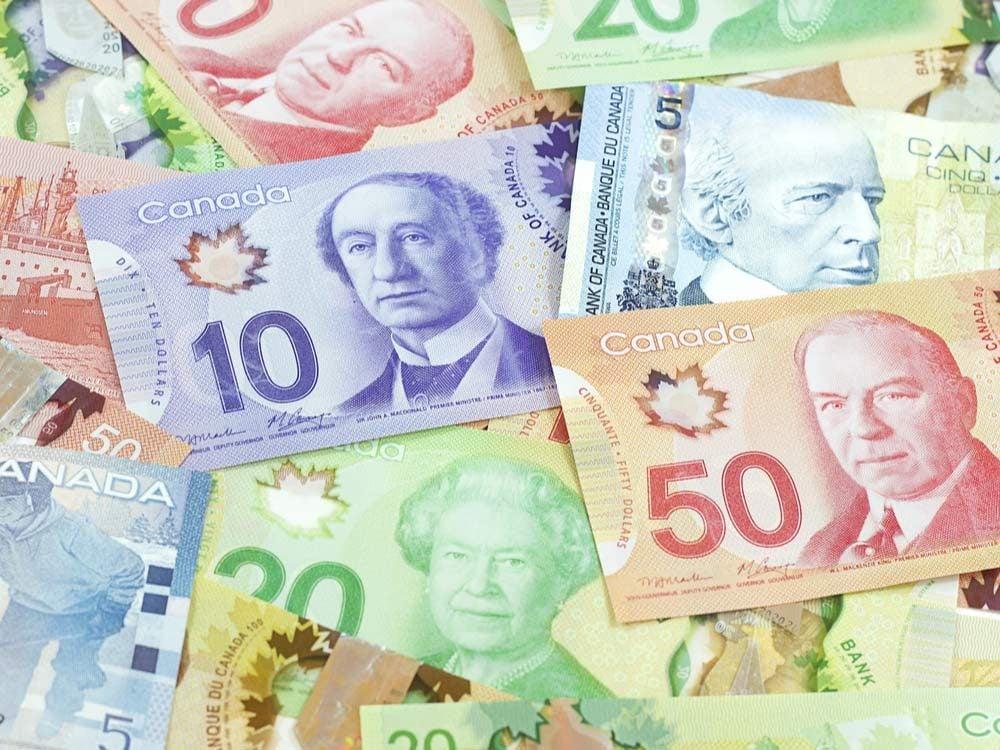 Canadian banknotes