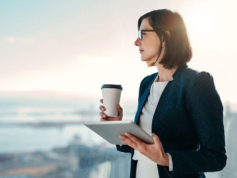 Female businesswoman