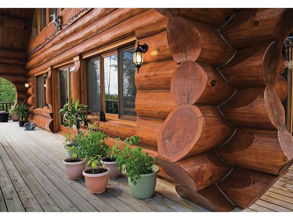 Log homes of Quebec