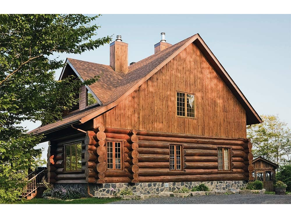 Blast from the Past: The Log Homes of Quebec | Our Canada
