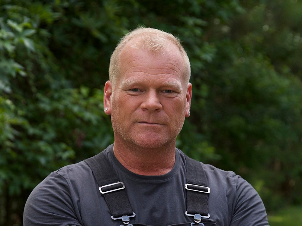 Contractor and television personality Mike Holmes