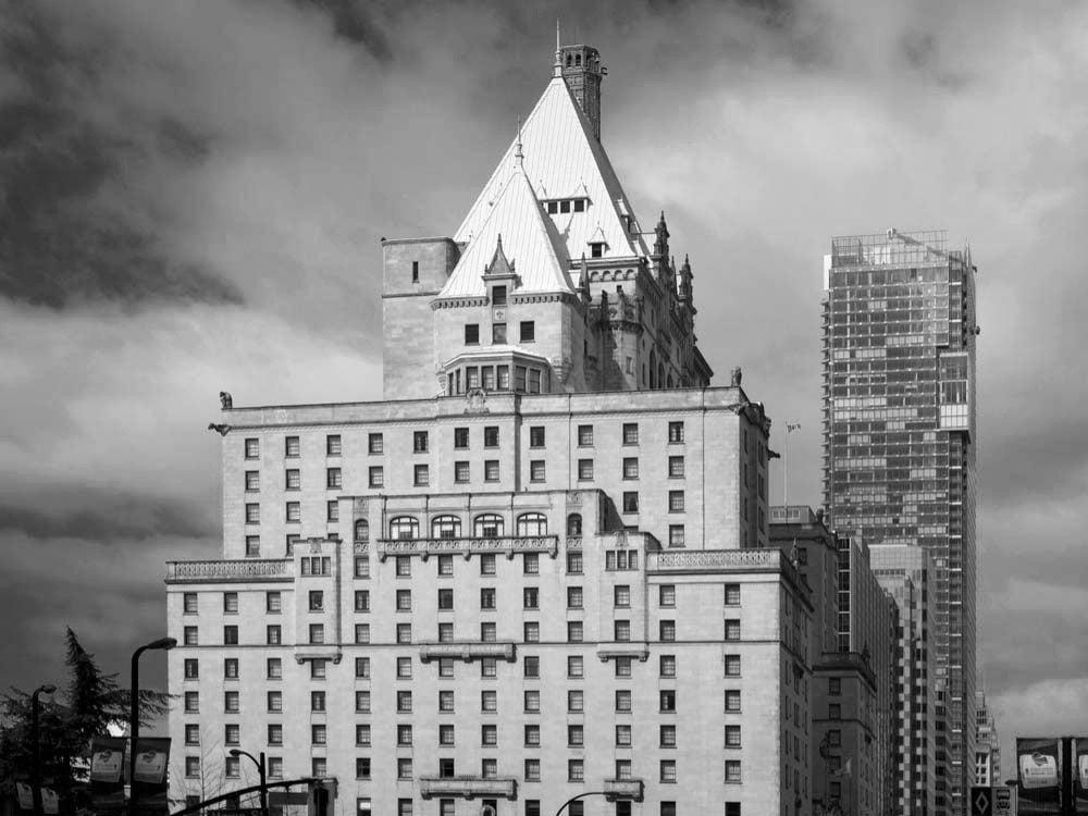 Fairmont Hotel Vancouver, British Columbia, Canada